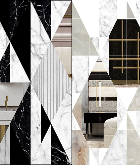 Opus inlay marble design