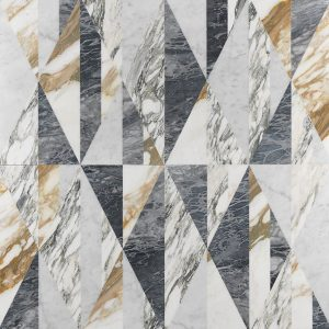 tangram luxury inlaid marble covering
