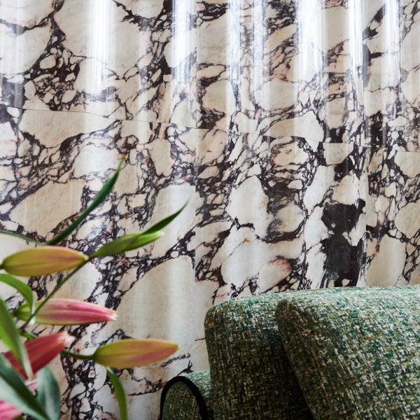 Chiffon 3D Luxury Marble Wall