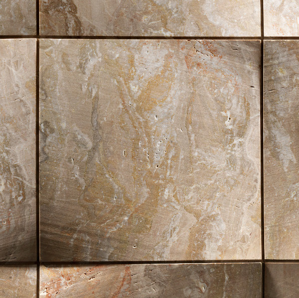 Foulard interior stone wall covering