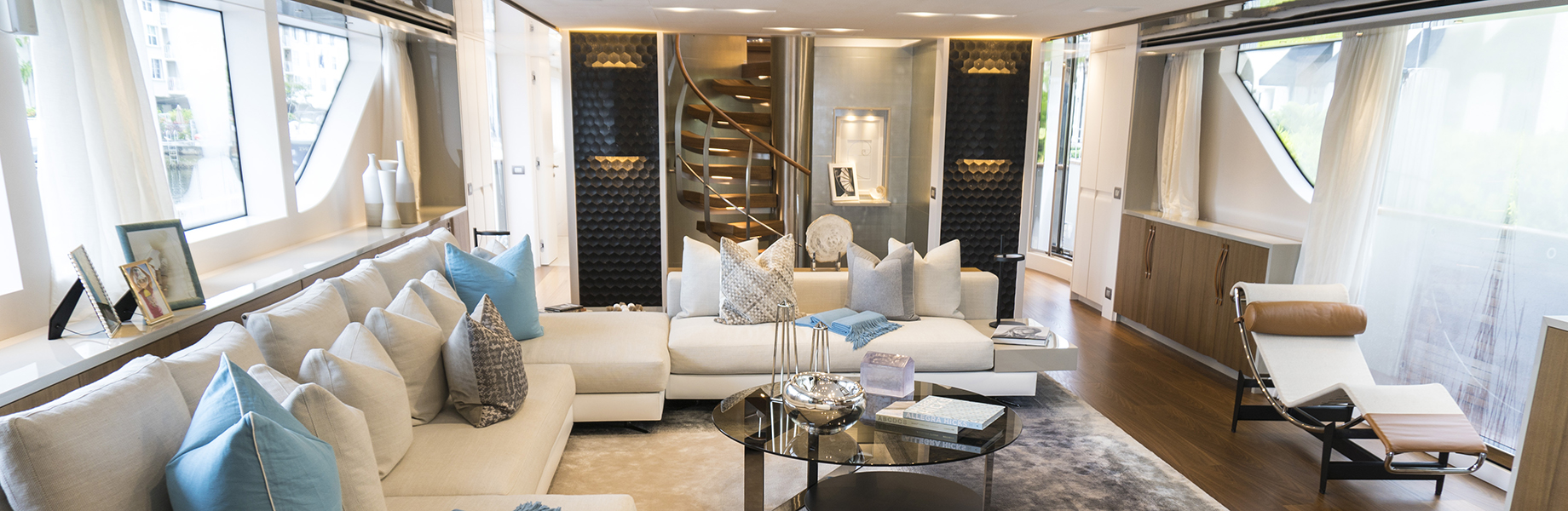 favo luxury yacht interiors