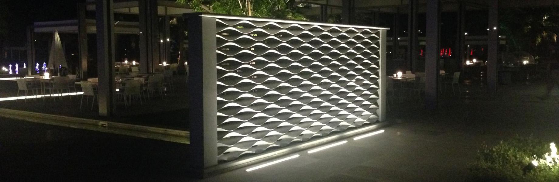 onda design stone divider
