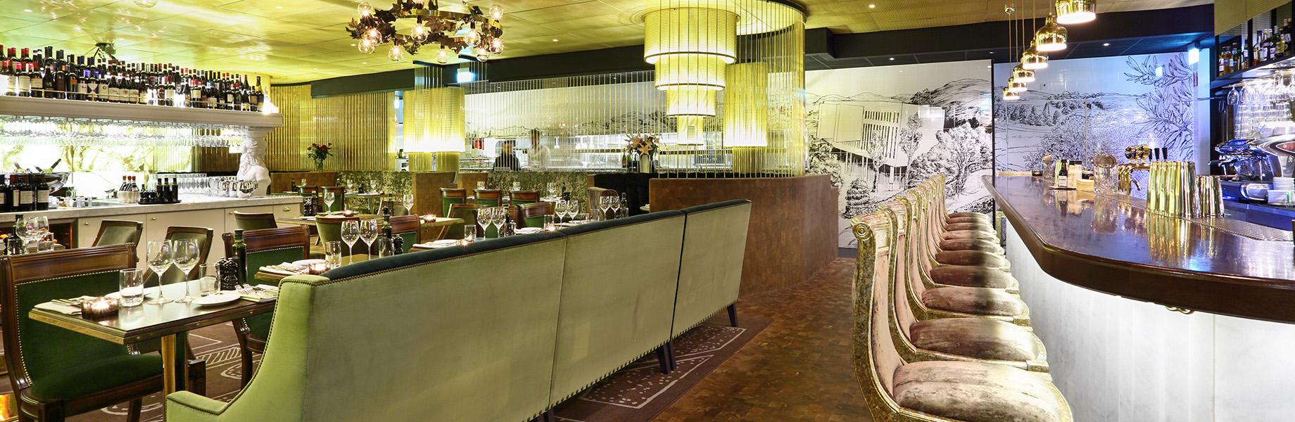 chiffon marble restaurant design