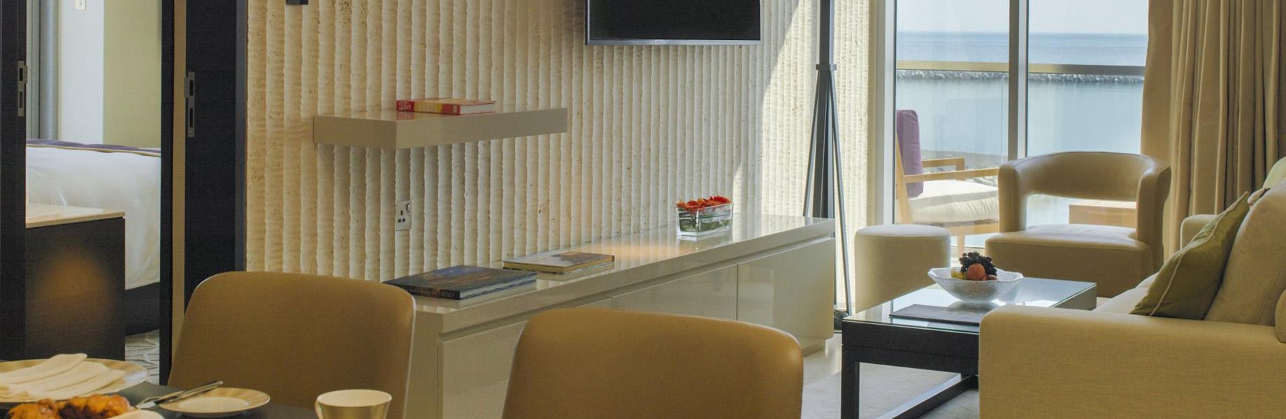 Lithos Design Kempinski Hotel Muscat interior stone hotel design