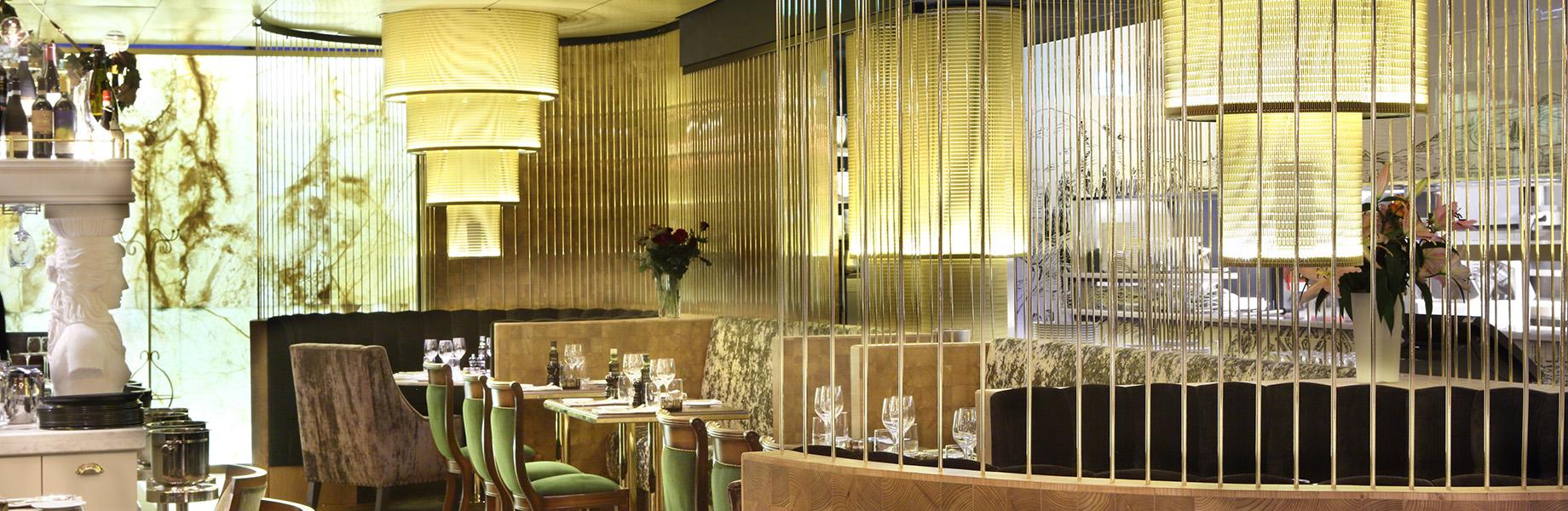 Marble Restaurant Design Aaltos Italian Grill Garden Lithos Design