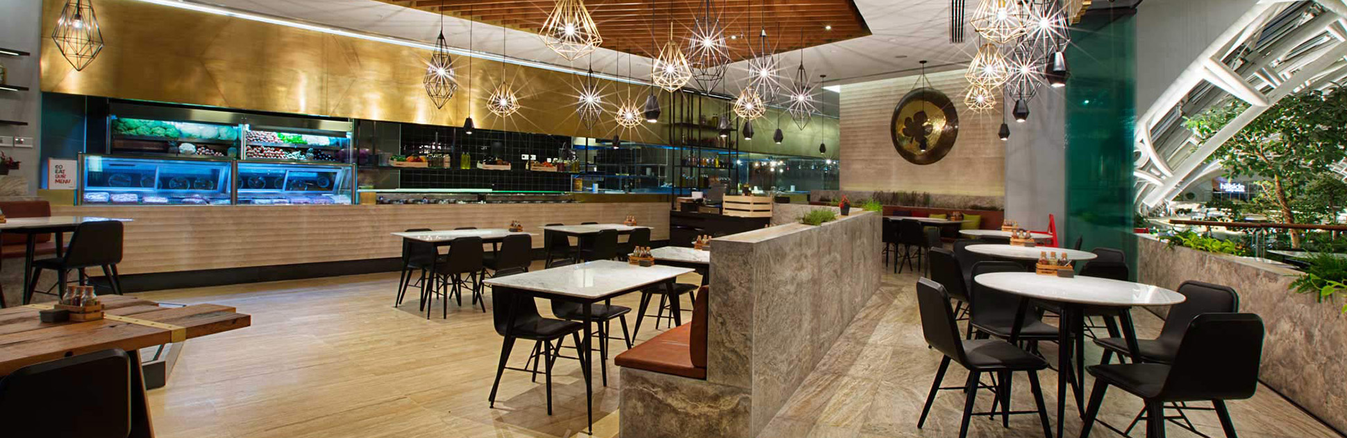 tratto stone restaurant interiors
