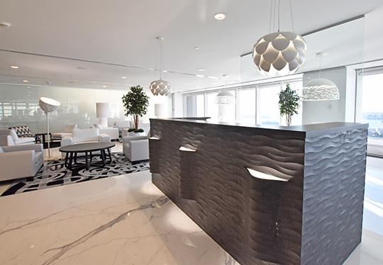 Lithos-Design_Aurora-place-sydney_marble reception desk