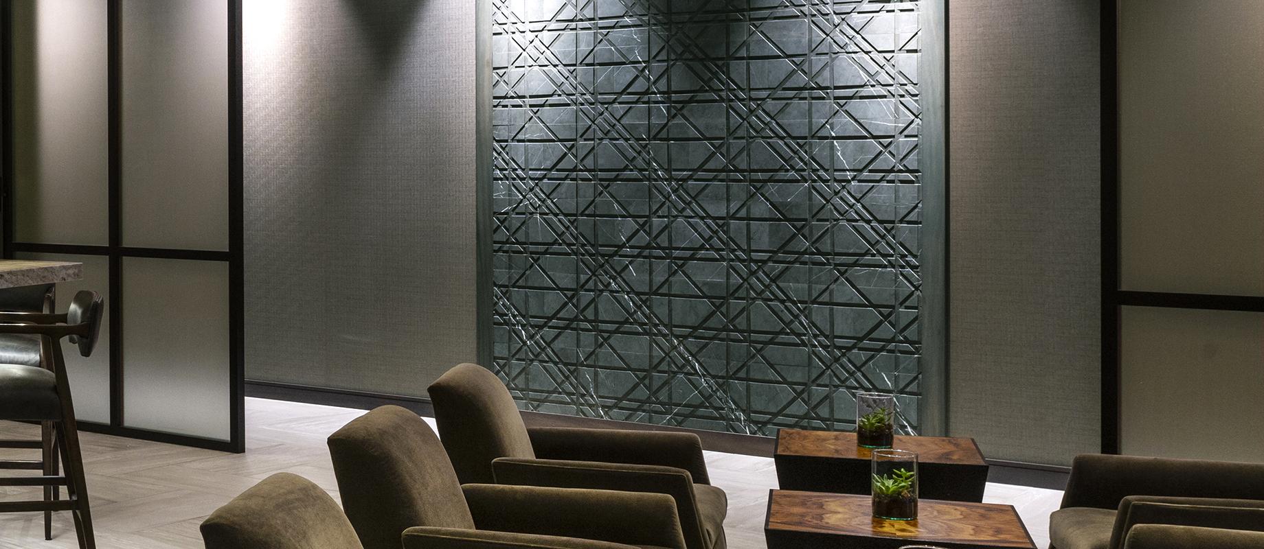 LithosDesign_ACHotelCleveland_tartan_hotel interior wall covering