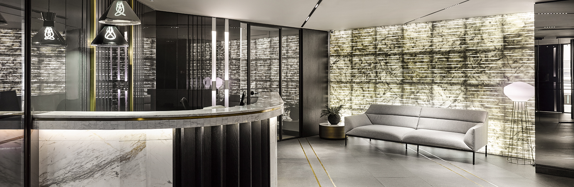 mizar backlit wall tiles